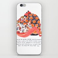 valentines iPhone & iPod Skins featuring Valentines by Mouni Feddag