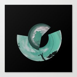 Sky Chaos Canvas Print