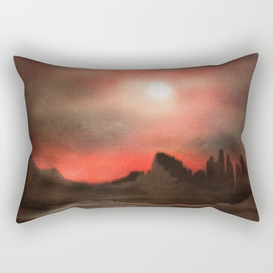 Passion in the sky Rectangular Pillow
