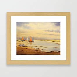 A Great Day For Sailing Framed Art Print
