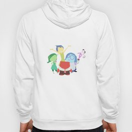 Inside Out, Joy,  Sadness, Fear, Anger, Disgust Hoody