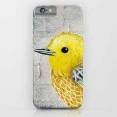 Yellow Warbler Tilly (Vintage Edition) Slim Case iPhone 6s