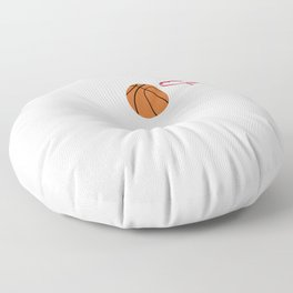 """Simple Basic Basketball Tee For Basketball Players """"Board Man Gets Paid"""" T-shirt Design Home-court Floor Pillow"""