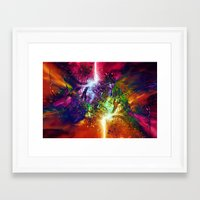 chaos Framed Art Prints featuring Chaos by Robin Curtiss
