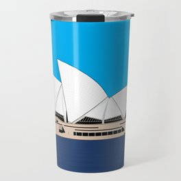 Opera House Utzon Modern Architecture Travel Mug