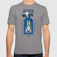 Doctor Whodini Tri-Grey LARGE Mens Fitted Tee