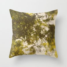 All Good Things Throw Pillow