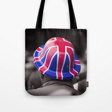 A Patriotic Boy Tote Bag