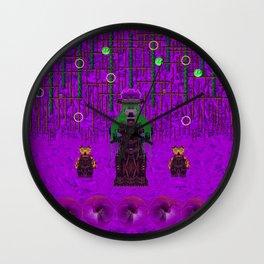 Lady Panda meets P Picasso Wall Clock