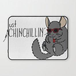 Just Chinchillin' Laptop Sleeve