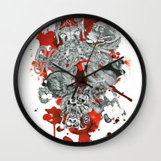 The seven deadly sins Wall Clock