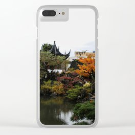 chinese garden - vancouver Clear iPhone Case