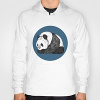 pandas Hoodies featuring Pandas by Diana Hope