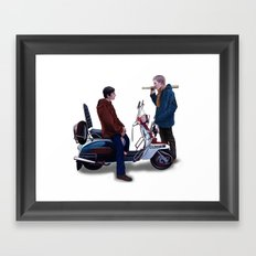 Jimmy Casual Framed Art Print