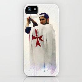 Knight Templar iPhone Case