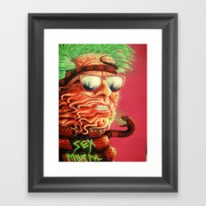 Sexmetal Framed Art Print