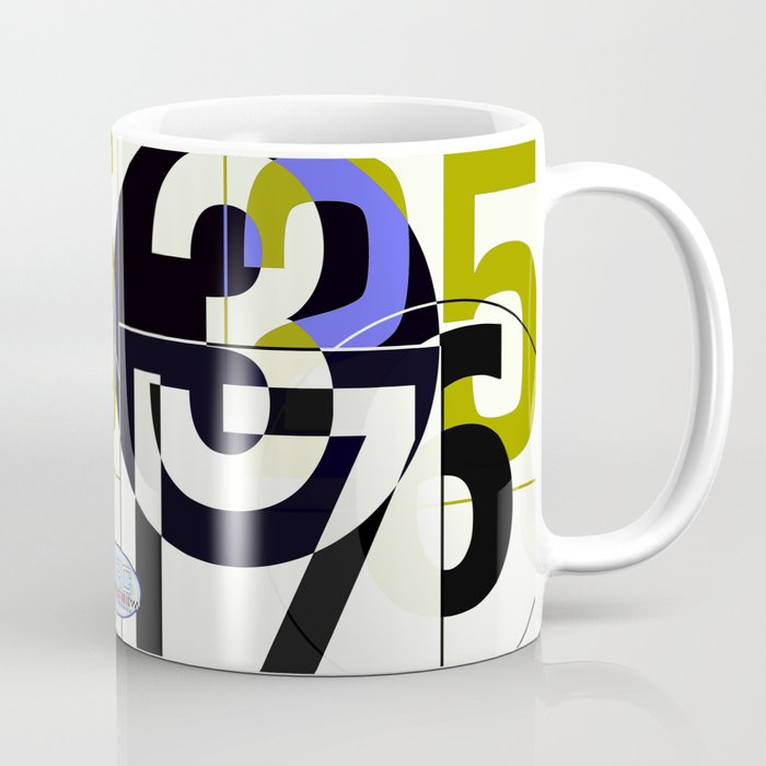 SRC Preparations Race Numbers One Coffee Mug