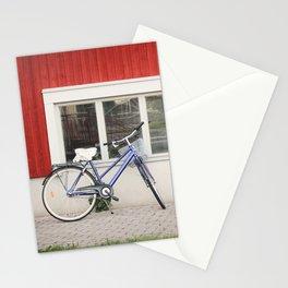 Blue City Bike Stationery Cards