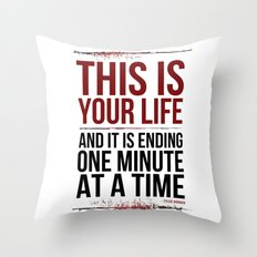 Fight Club - This is Your Life... Throw Pillow