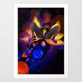 Submerge from the Womb Art Print