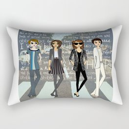 Beatlemania Rectangular Pillow