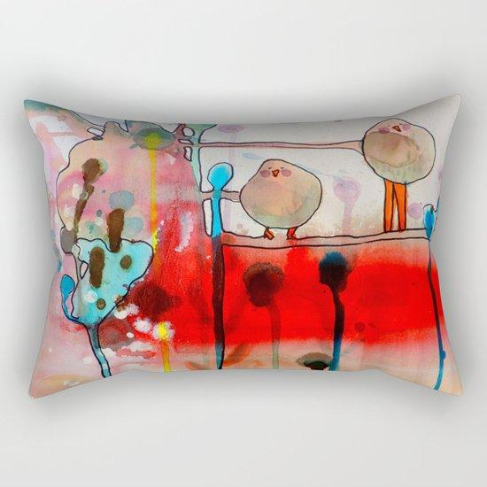 the first time Rectangular Pillow