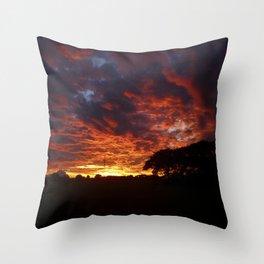 Sunset #2 Throw Pillow