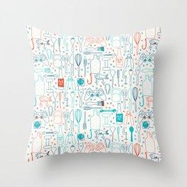 Men hobbies Throw Pillow