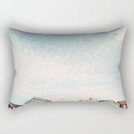 Beach Hut Sky  Rectangular Pillow