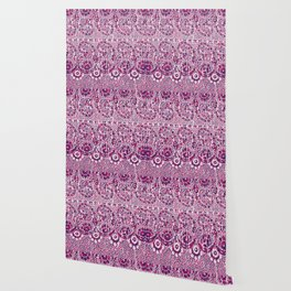 sun floral paisley colorful Wallpaper
