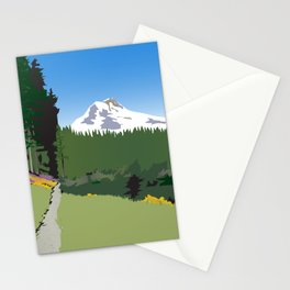 Mt Hood Meadows Hike Stationery Cards
