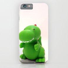 Happy Green Dinosaur Slim Case iPhone 6s