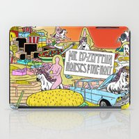 "led zeppelin iPad Cases featuring Mr. Ed-Zeppelin - ""Horses of the Holy"" by Steven Fiche by Consequence of Sound"