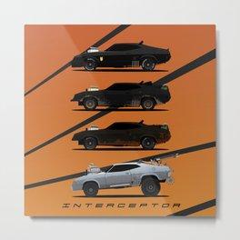 Interceptor Evolution Metal Print