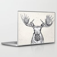 moose Laptop & iPad Skins featuring Moose by Nadie van Wijk