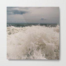 Wabasso Beach Waves 3 Metal Print