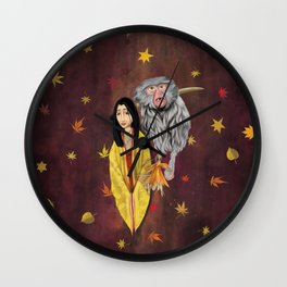 Mother, Kubo digital painting Wall Clock