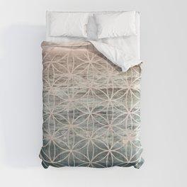 Mandala Flower of Life Sea Comforters