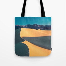 the geometry of death valley light Tote Bag