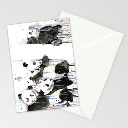 Pandas Stationery Cards