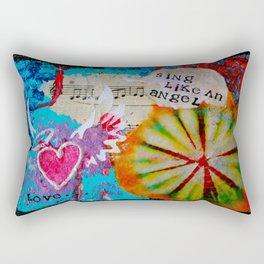 Sing Like an Angel Rectangular Pillow