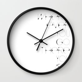 Where Ever Wall Clock
