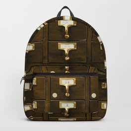 The Bank Drawers (Color) Backpack