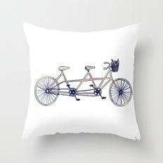 Tandem Throw Pillow
