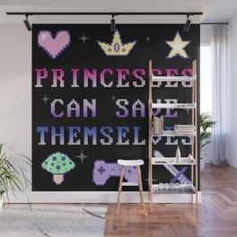 Independant Princess (dark) Wall Mural