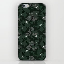 Slyterin pattern iPhone Skin