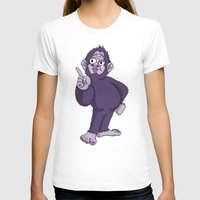 sassy T-shirts featuring Sassy Squatch by Chris Piascik