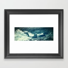 The Sea I. Framed Art Print