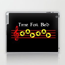 Time For Bed - Zeldas Lullaby (The Legend Of Zelda: Ocarina Of Time) Laptop & iPad Skin