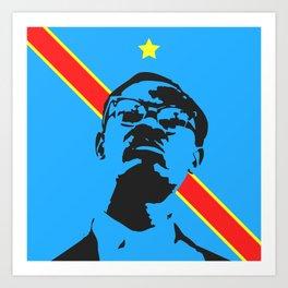 Lumumba Art Print